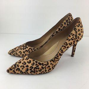 Banana Republic Leopard Print Pointed Heels